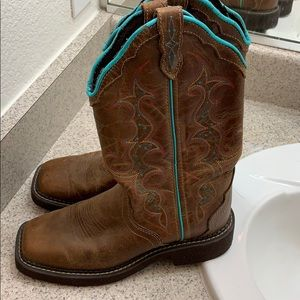 Justin Boots Shoes - cowgirl boots